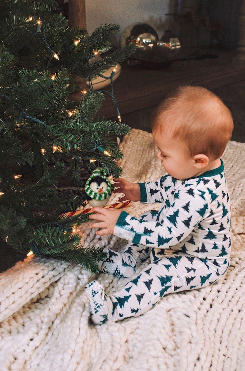 Baby's First Christmas Baby christmas pjs, Christmas