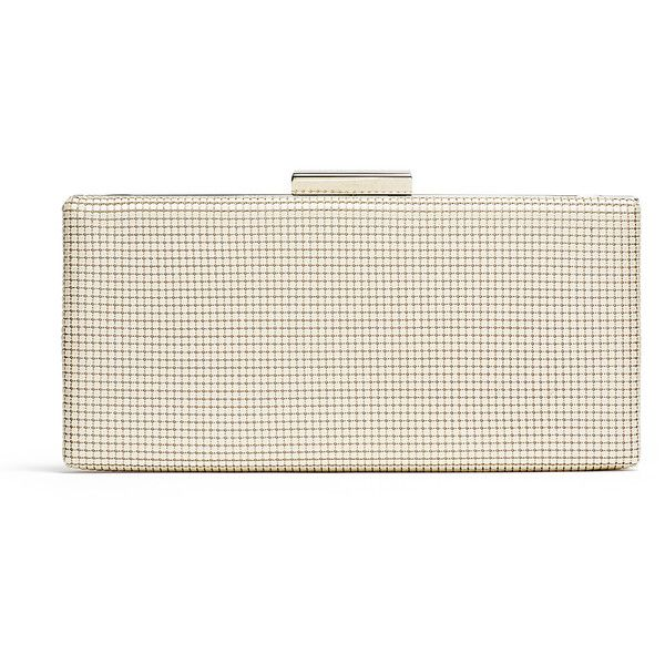 Rental Whiting & Davis Pearl Slim Frame Clutch ($25) ❤ liked on ...