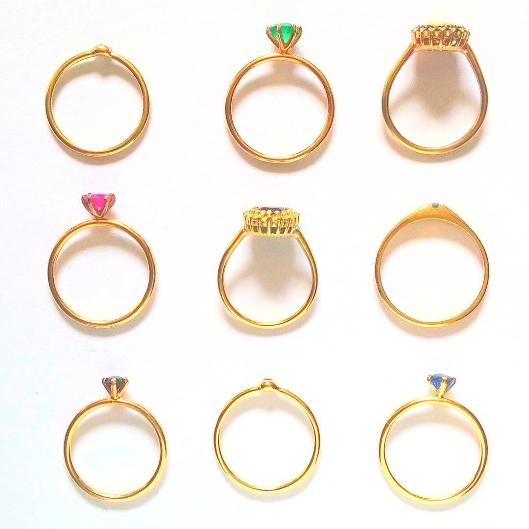 9#9 #Goldsmith #goldjewelry #goldring #sapphire #diamond #emerald ...
