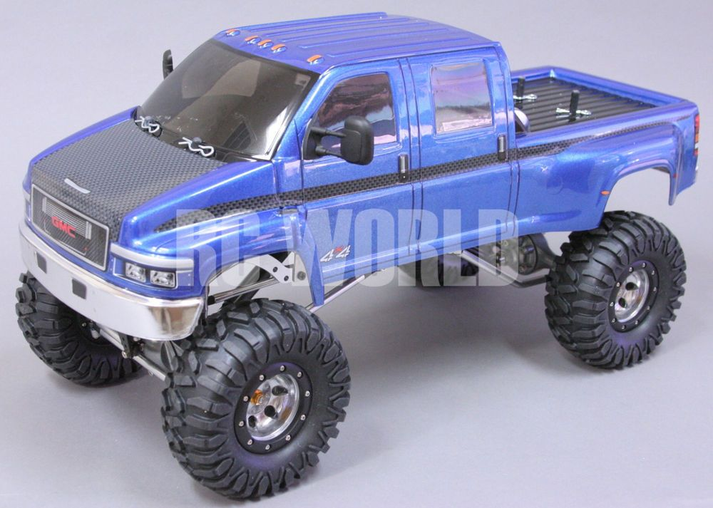 Best Rc Truck 4x4 : Rock crawler rc truck gmc top kick super duty ghz