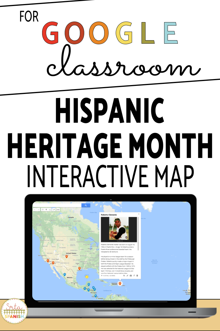 Your Students Will Love Getting To Visit Areas Around The World And Learn About Different People For In 2020 Hispanic Heritage Month Hispanic Heritage Heritage Month [ 1152 x 768 Pixel ]