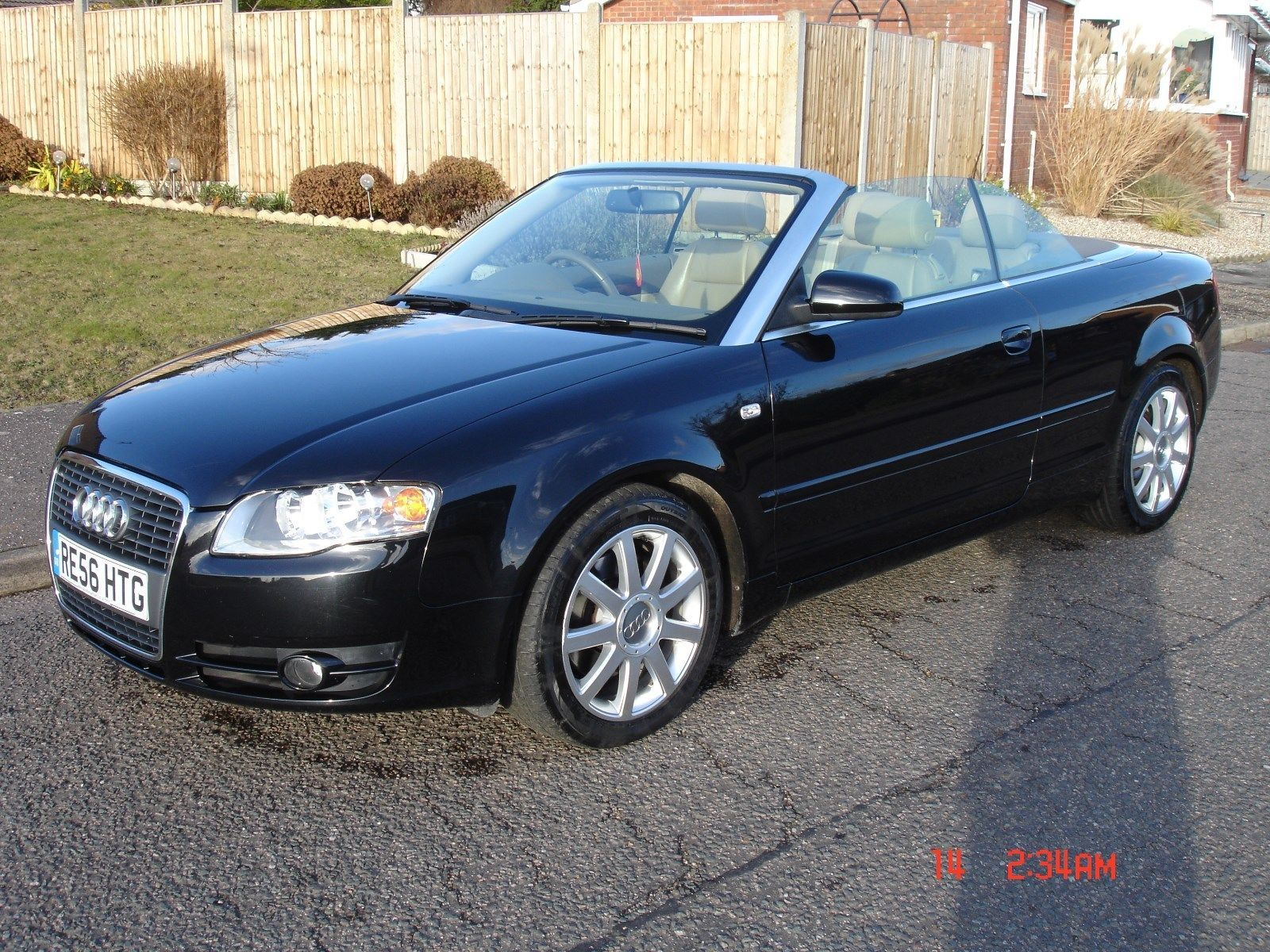 Audi a4 1 8 t convertible only miles automatic