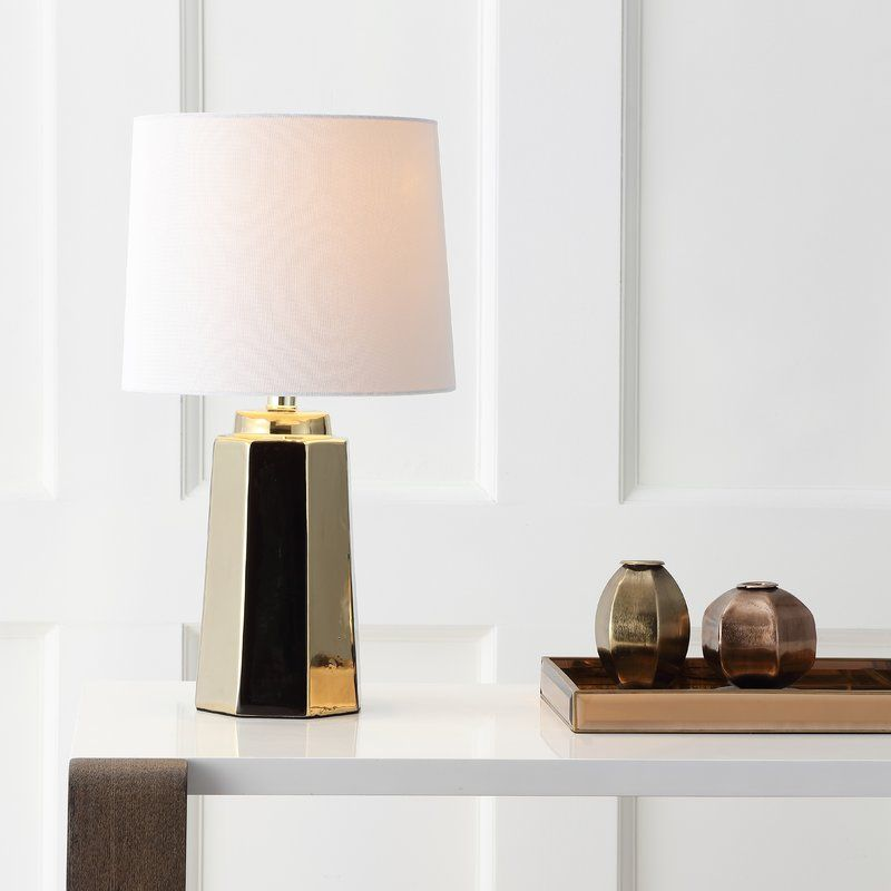 Hirschman 17 25 Table Lamp Gold Table Lamp Glam Table Lamps Led Table Lamp