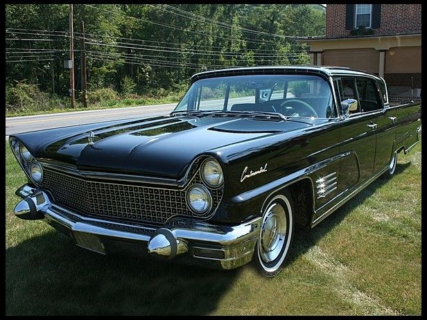 1960 Lincoln Continental 430 Ci Automatic At Mecum Auctions Lincoln Continental Lincoln Motor Company Lincoln Cars