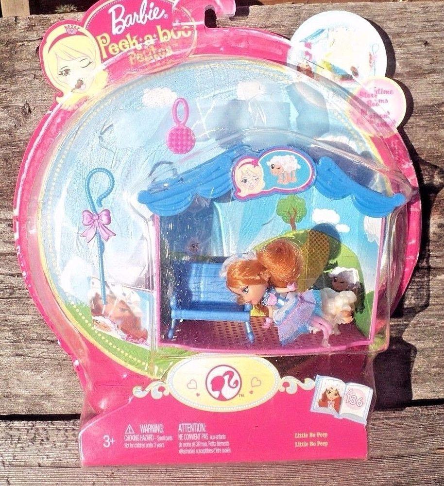 Barbie Peek A Boo Petites Storytime Rooms Little Bo Peep 2008