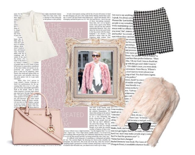 """""""Steal Her Style: Emma Roberts"""" by slaymymendes ❤ liked on Polyvore featuring RED Valentino, Alexander McQueen, Polo Ralph Lauren and Michael Kors"""