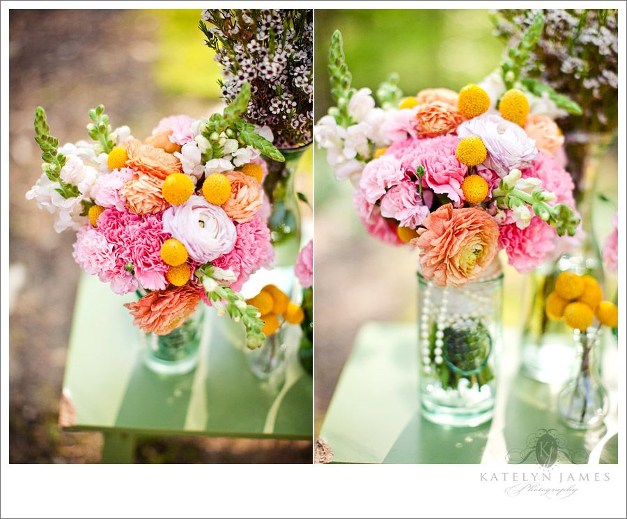 Diy Grocery Wedding Flower Arrangements