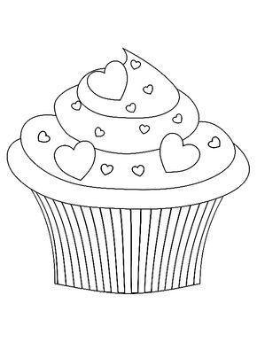Cupcakes Basteln Mit Senioren Cupcake Zeichnung