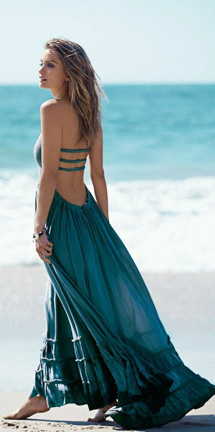 la robe longue d 39 t 65 belles variantes robe clothes and summer. Black Bedroom Furniture Sets. Home Design Ideas