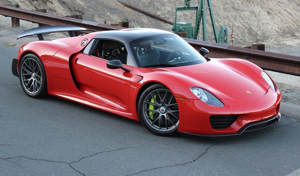 Rare Guards Red Porsche 918 Spyder For Sale Porsche 918 Porsche Cars Porsche Carrera Gt