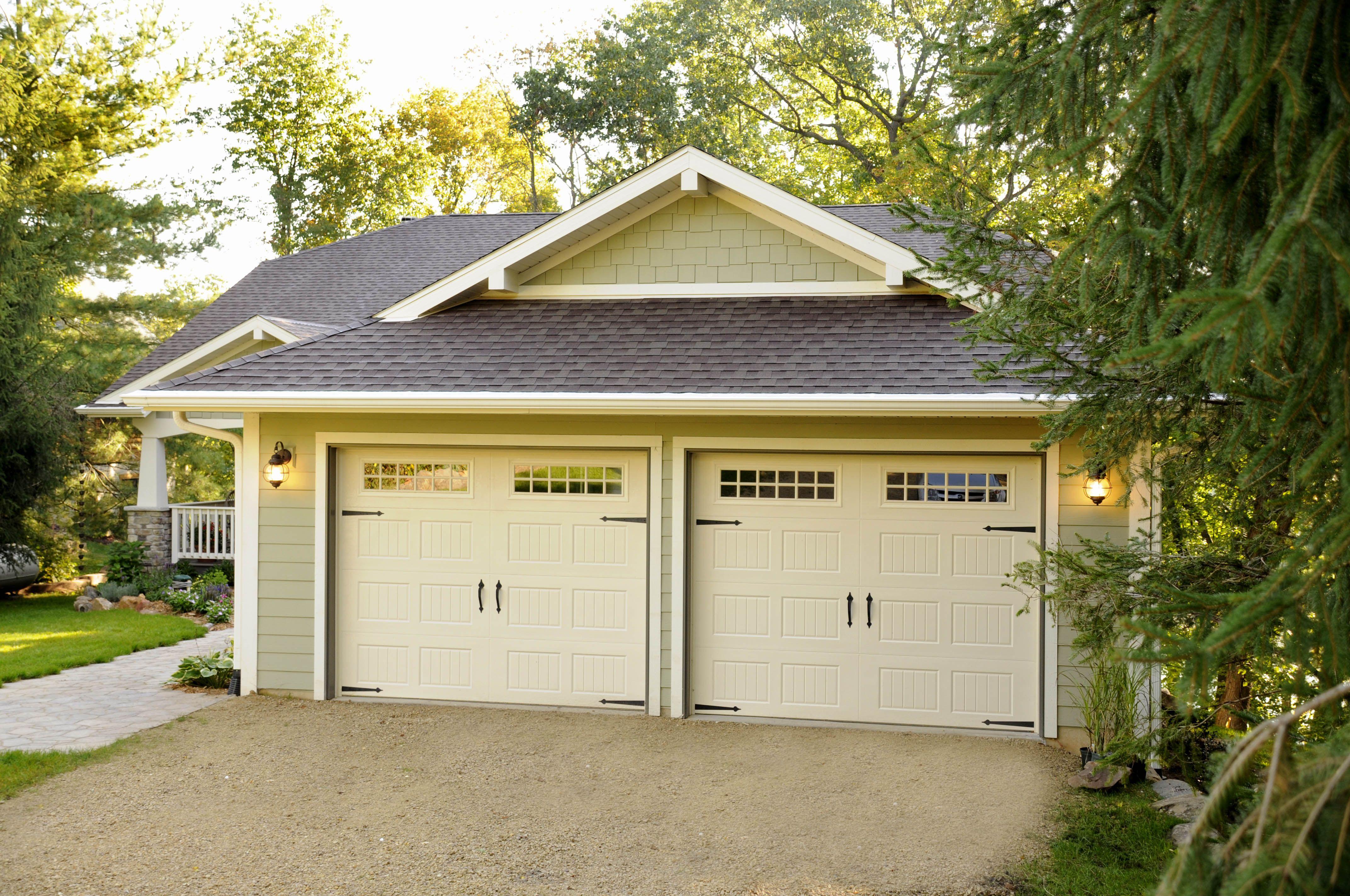 at p standard natural door average garage ideas dimensions car two avec dimensi plans garages