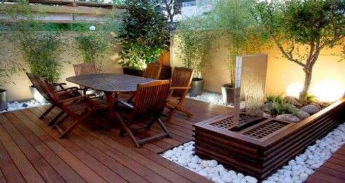 Petite terrasse à l\'aménagement plein d\'astuces déco   Garden ...