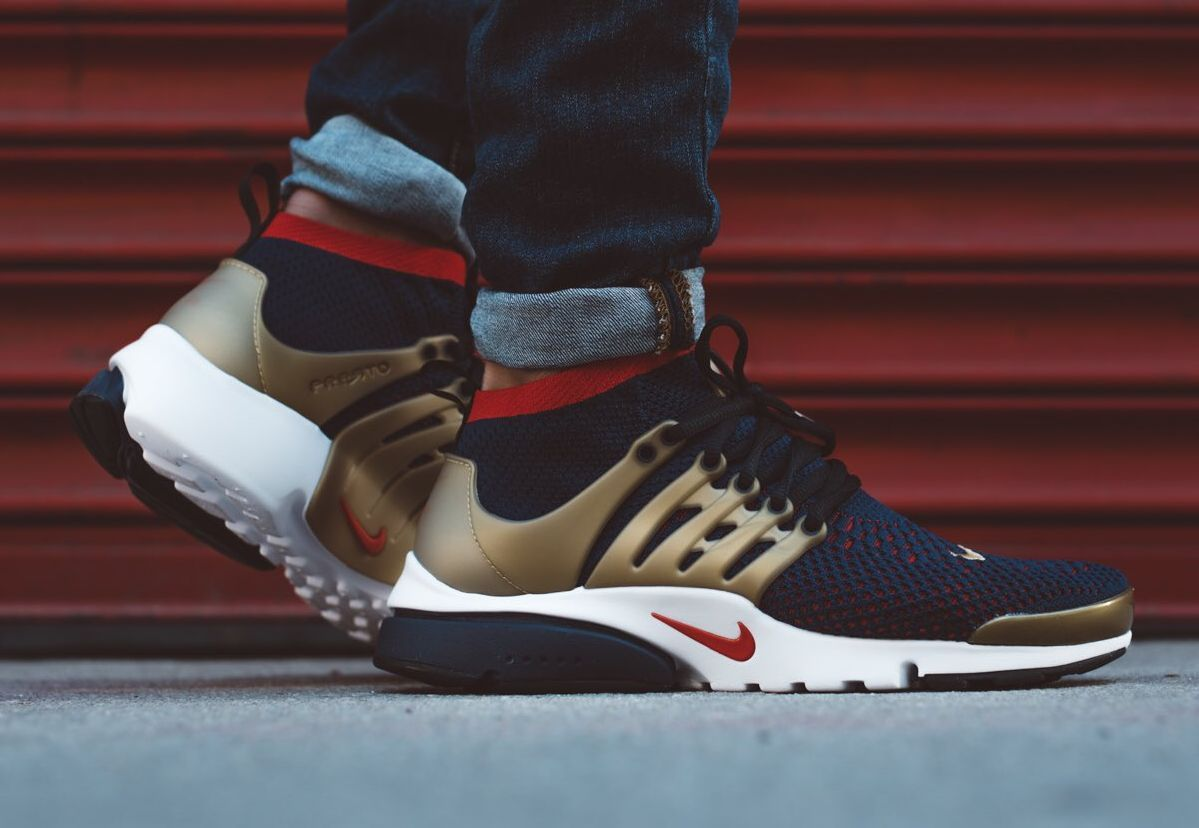 0551f3e736859 Here's An On-Feet Look At The Nike Air Presto Ultra Flyknit Olympic ...