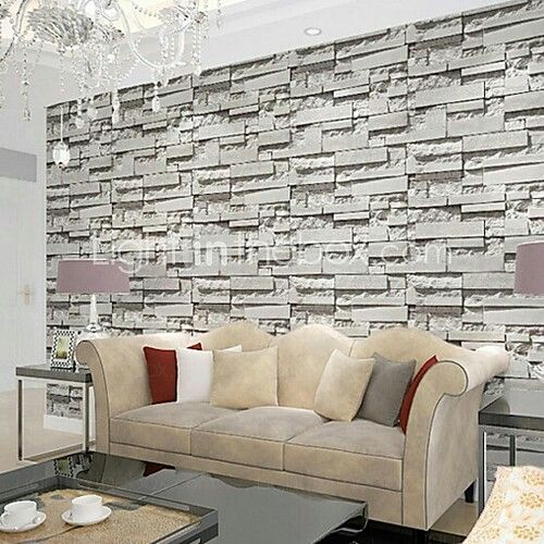 Contemporary brick wallpaper geometric wall covering pvcvinyl wall contemporary brick wallpaper geometric wall covering pvcvinyl wall art for wall covering from the light in the box aloadofball Choice Image