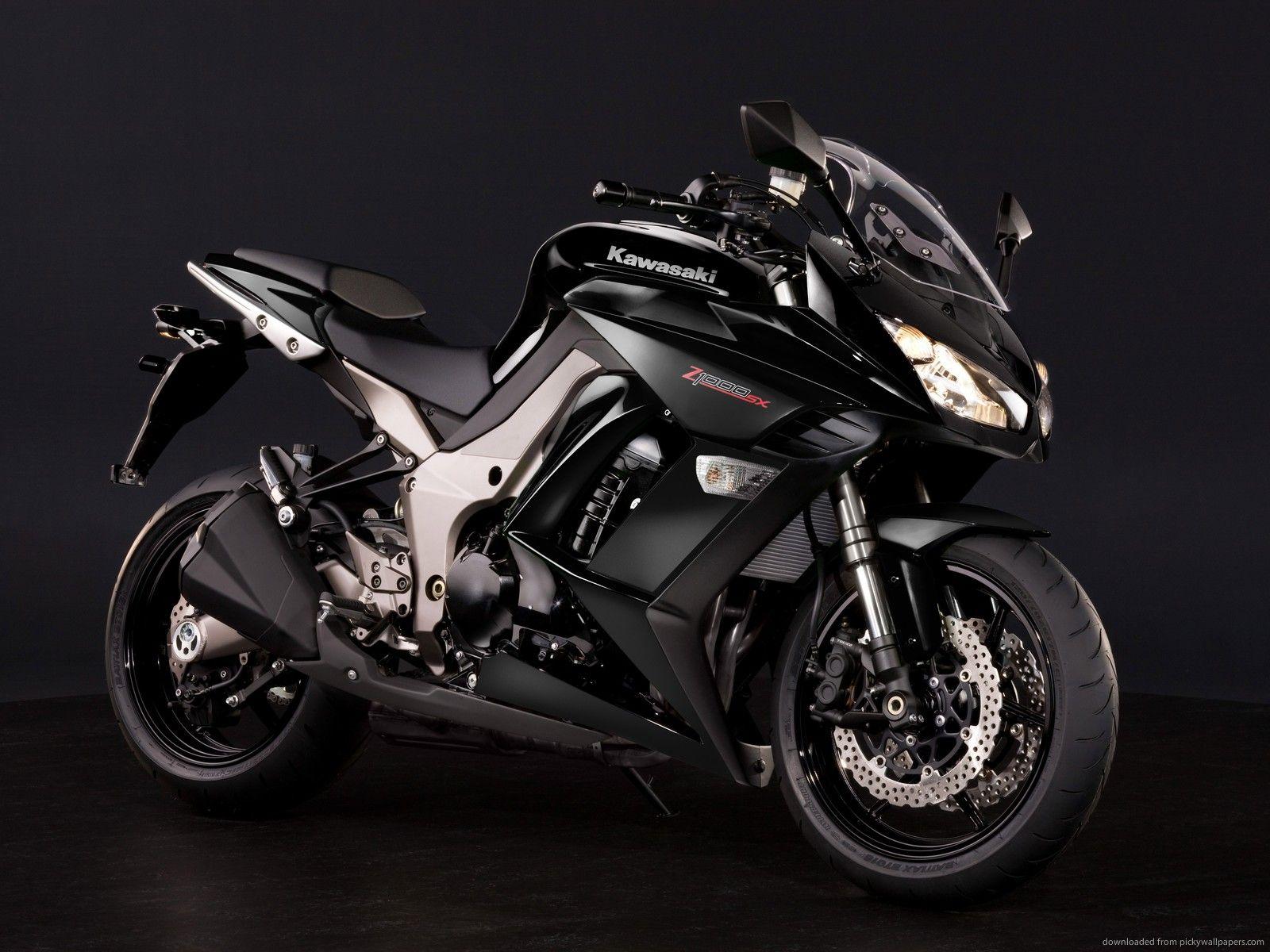 Beautiful Crni Kawasaki Z1000sx Wallpaper HD Pozadine