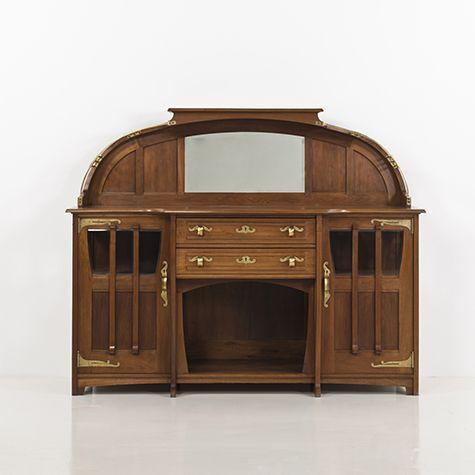 Buffet 1901 Serrurier Bovy Gustave Serrurier Bovy Est Un Architecte Et Decorateur Belge Ne A Liege En 1858 Et Mo Meubles Art Nouveau Art Nouveau Architecte