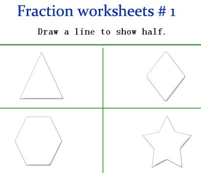 fraction worksheets for kindergarten fraction games kindergarten  fraction worksheets for kindergarten fraction games kindergarten math  lesson plans