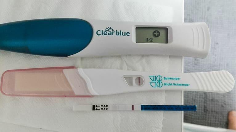 Schwangerschaftstest Erst Spät Positiv