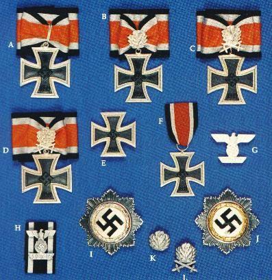La Cruz de Hierro (en alemán: Eisernes Kreuz) es una condecoración ...