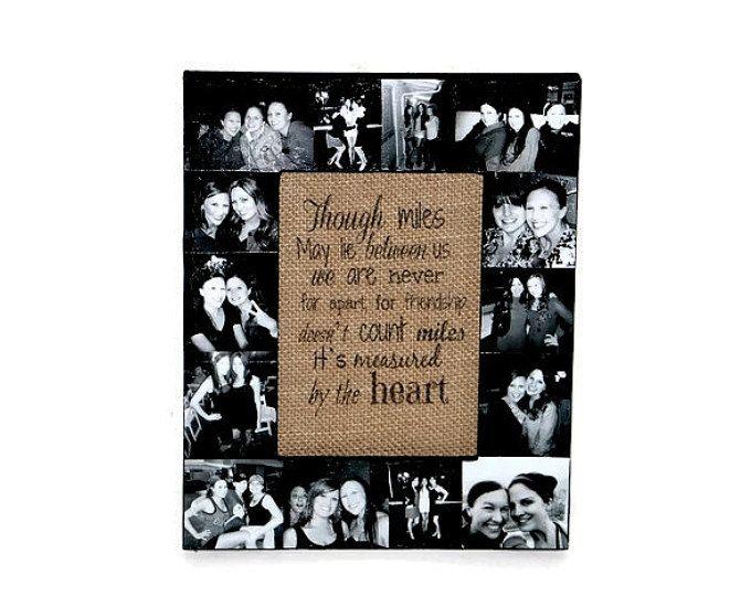 Best Friend Frame, best friend gift. Picture Frame Collage, Photo ...