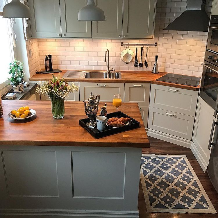 Pin By Jacque Schneider On For The Home Kitchen Remodel Small Kitchen Design Small Kitchen Trends