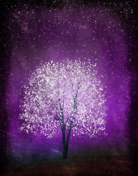 Violet Daze  11x14 by sarusdesignart on Etsy, $35.00