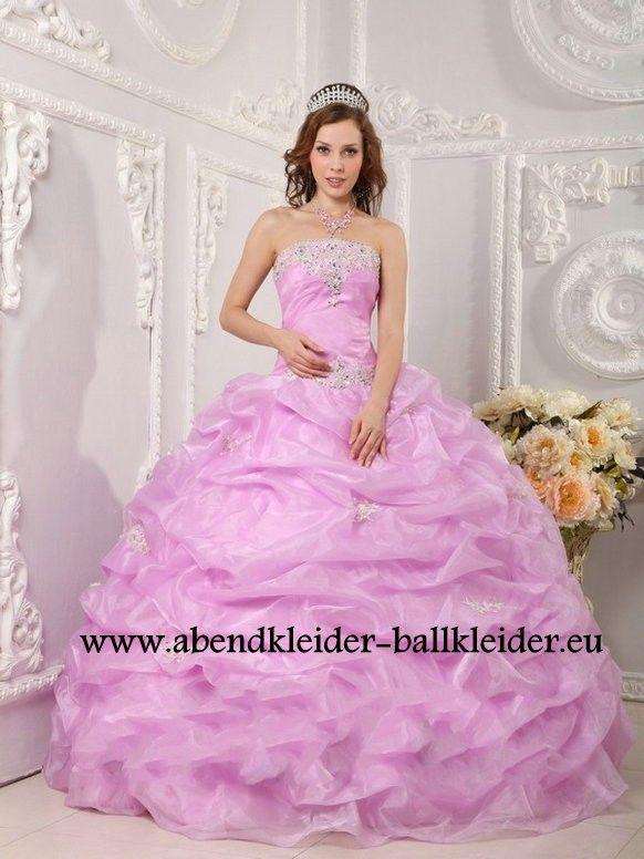 Klassisches Abendkleid Ballkleid Online in Flieder | Dresses ...