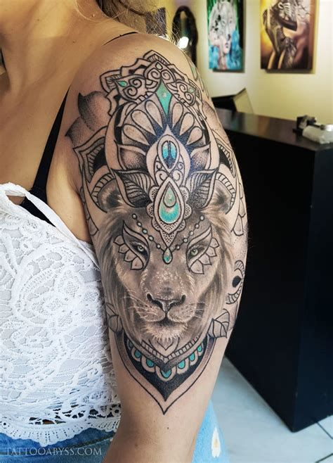 Lion Tattoo Mandala – Tatto Variant