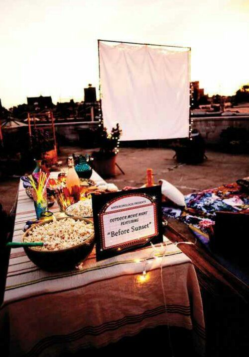 Outdoor Movie Nights.