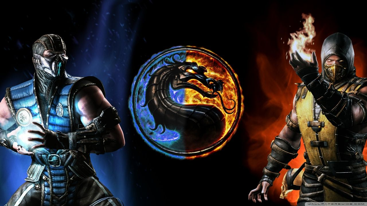 Mortal Kombat X Subzero Vs Scorpion Hd Desktop Wallpaper High Scorpion Mortal Kombat Mortal Kombat X Sub Zero Mortal Kombat