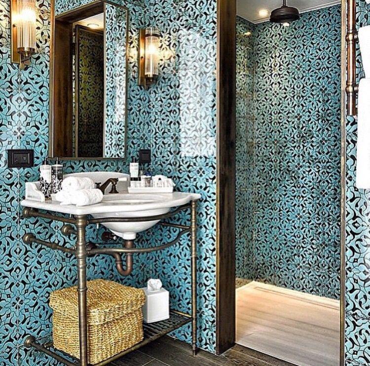 Salle de bain orientale moderne Oriental Pinterest Oriental