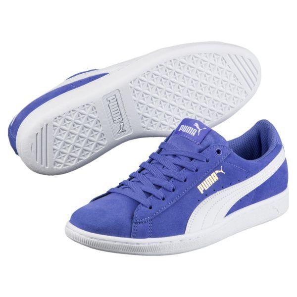 Puma women's size 6.5 + 7 in 2019   Blue pumas, Sneakers