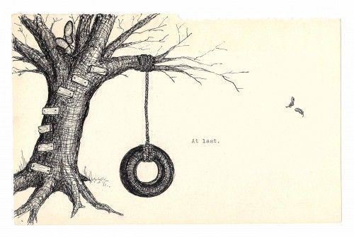 Tyre Swing Drawing - Google Search