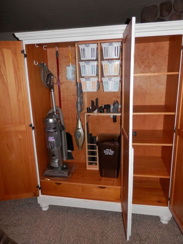 Organize And Storage Reclaimed Pine Cabinet Into A