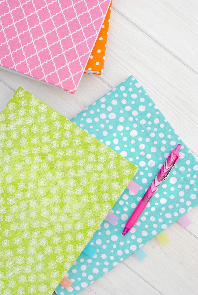 Cute & Easy DIY Notebook Cover Diy notebook cover, Diy