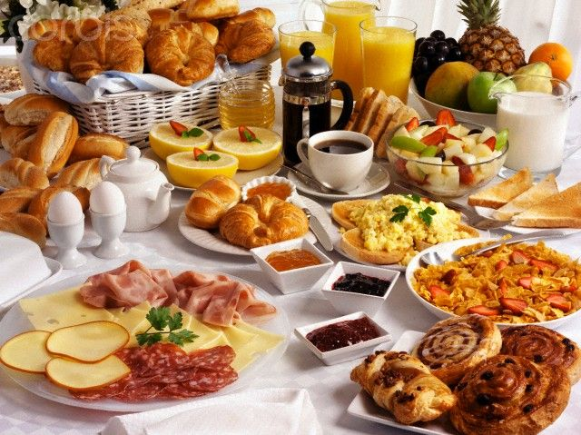 Continental Breakfast Buffet Ideas