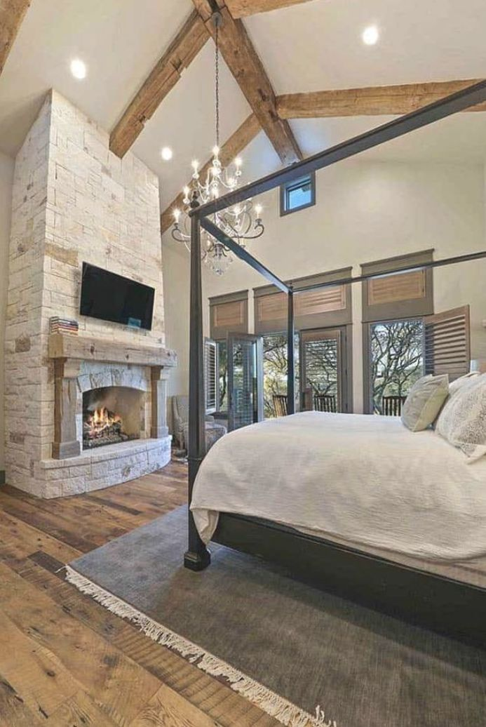 A fresh farmhouse designed with reclaimed timbers in Texas Hill Country