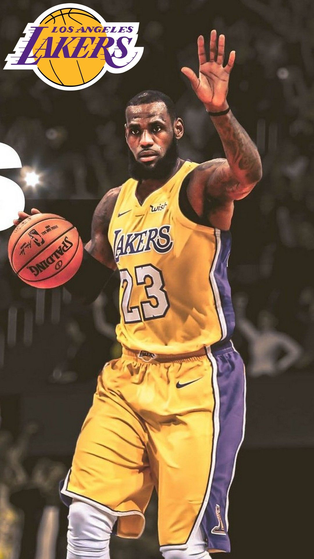 La Lakers Lebron James Hd Wallpaper For Iphone Lebron James