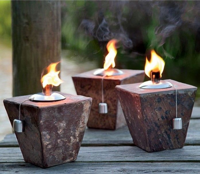 Good Tiki Torch Lights And Outdoor Oil Lamps: Garden Party Gear
