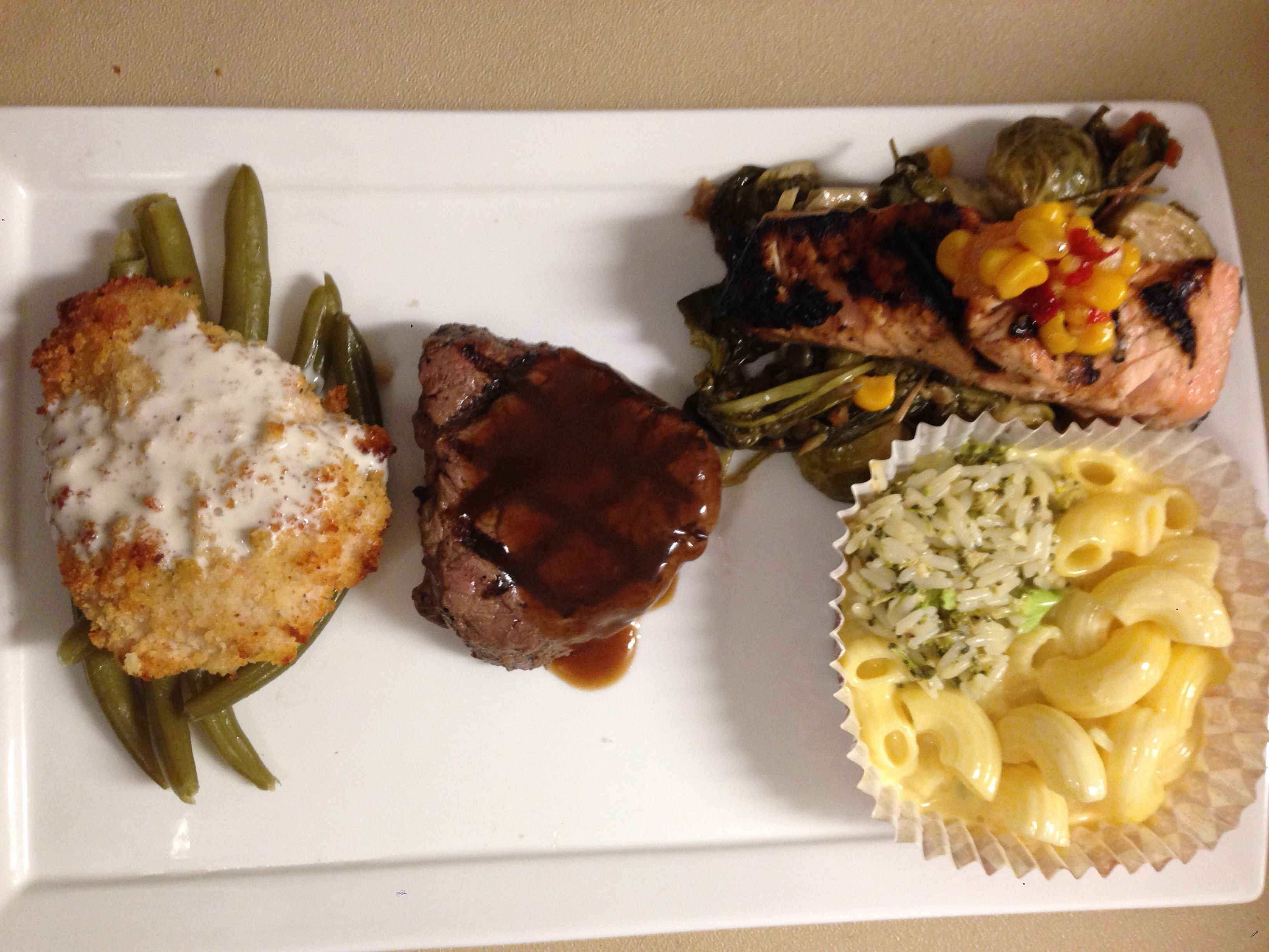 Plated Dinners are a great stress-free way for your guests to remain seated & Plated Dinners are a great stress-free way for your guests to ...