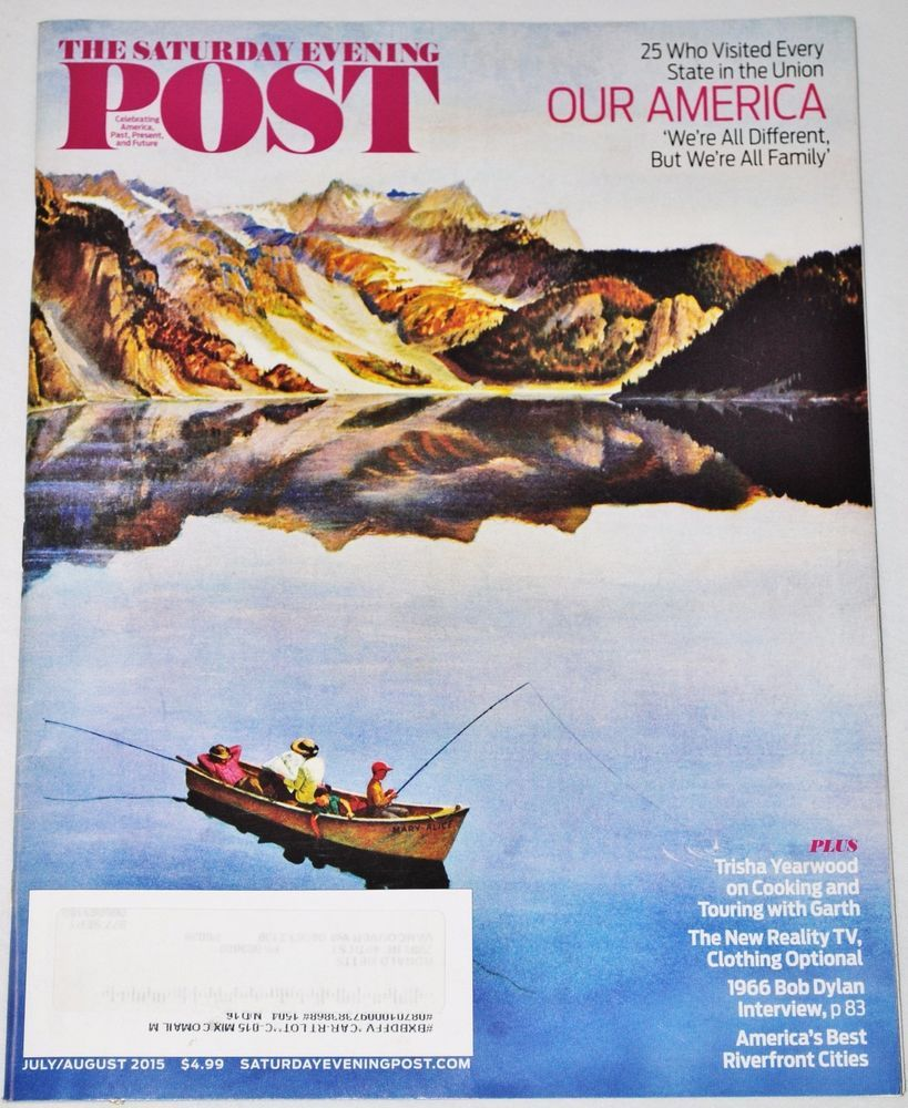 THE SATURDAY EVENING POST MAGAZINE  July/August 2015