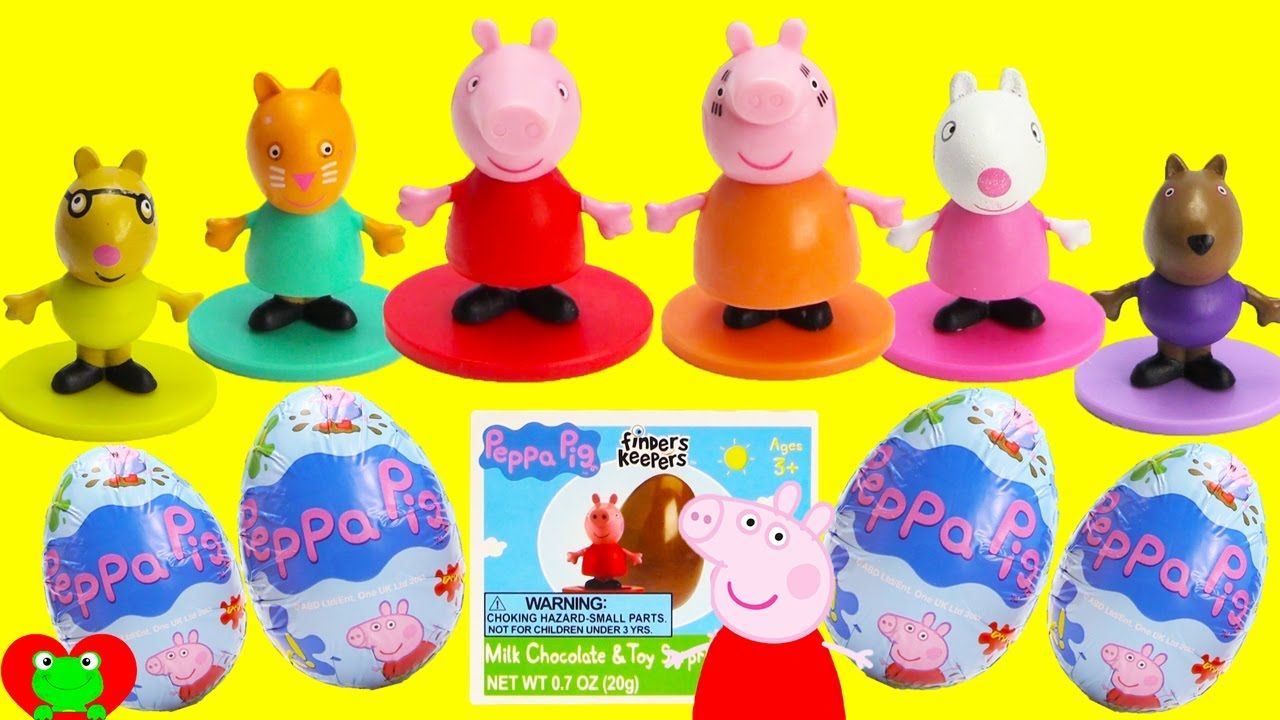 Best Learn Colors Video For Preschool With Peppa Pig