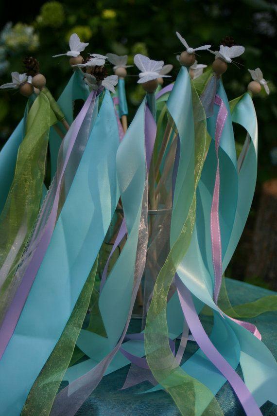 Prince Wand: Fairy Princess Birthday Party--Wooden Fairy Princess
