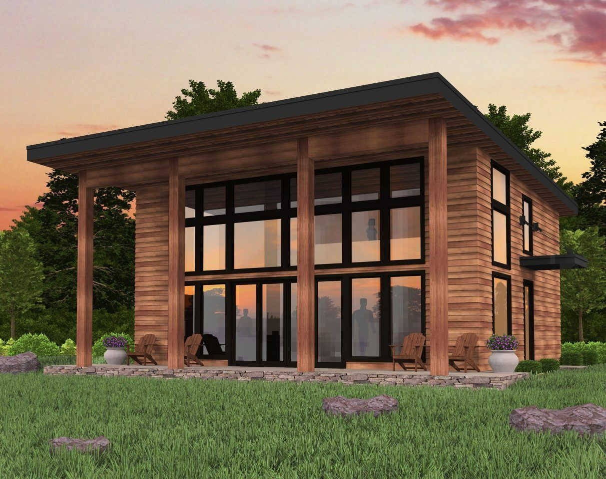 Bamboo House Plan Shed Roof Modern Small House Plans Bamboo House Design Small Modern House Plans House Roof