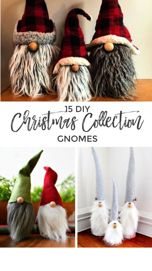 DIY Christmas Gnome Collection | Roost + Restore