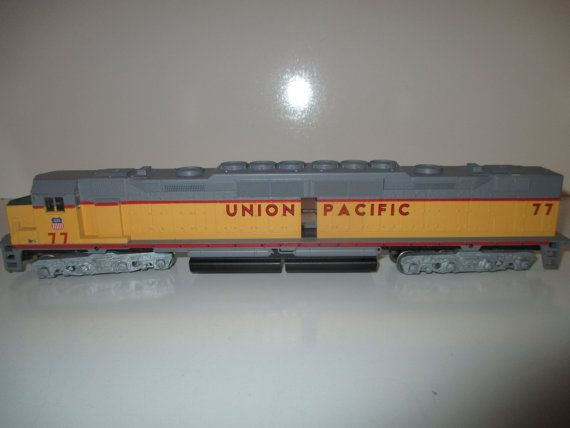 Athearn Dd40 1 Motor Union Pacific No 77 Model Railroad Union Electric Train