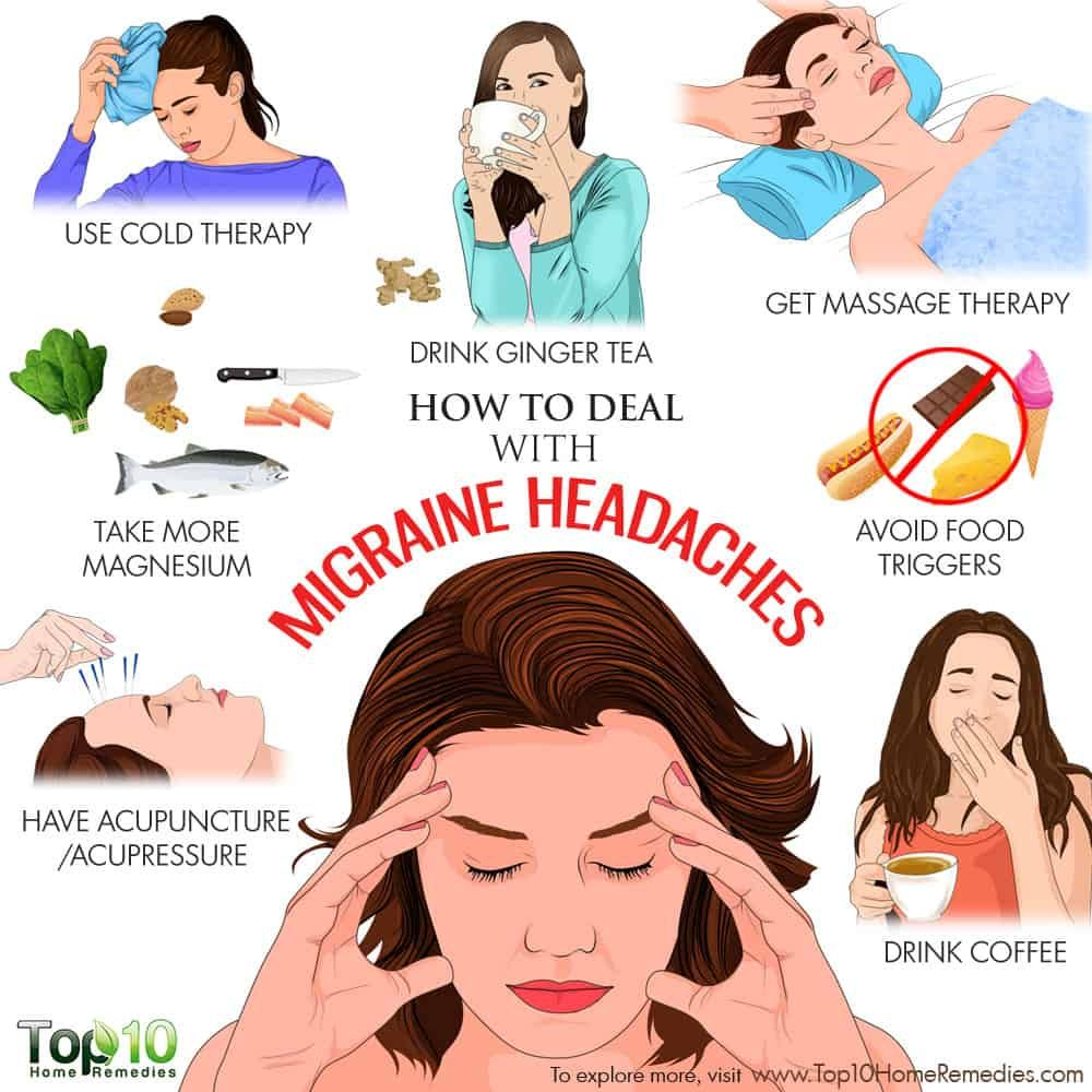 How to Deal with Migraine Headaches How to relieve