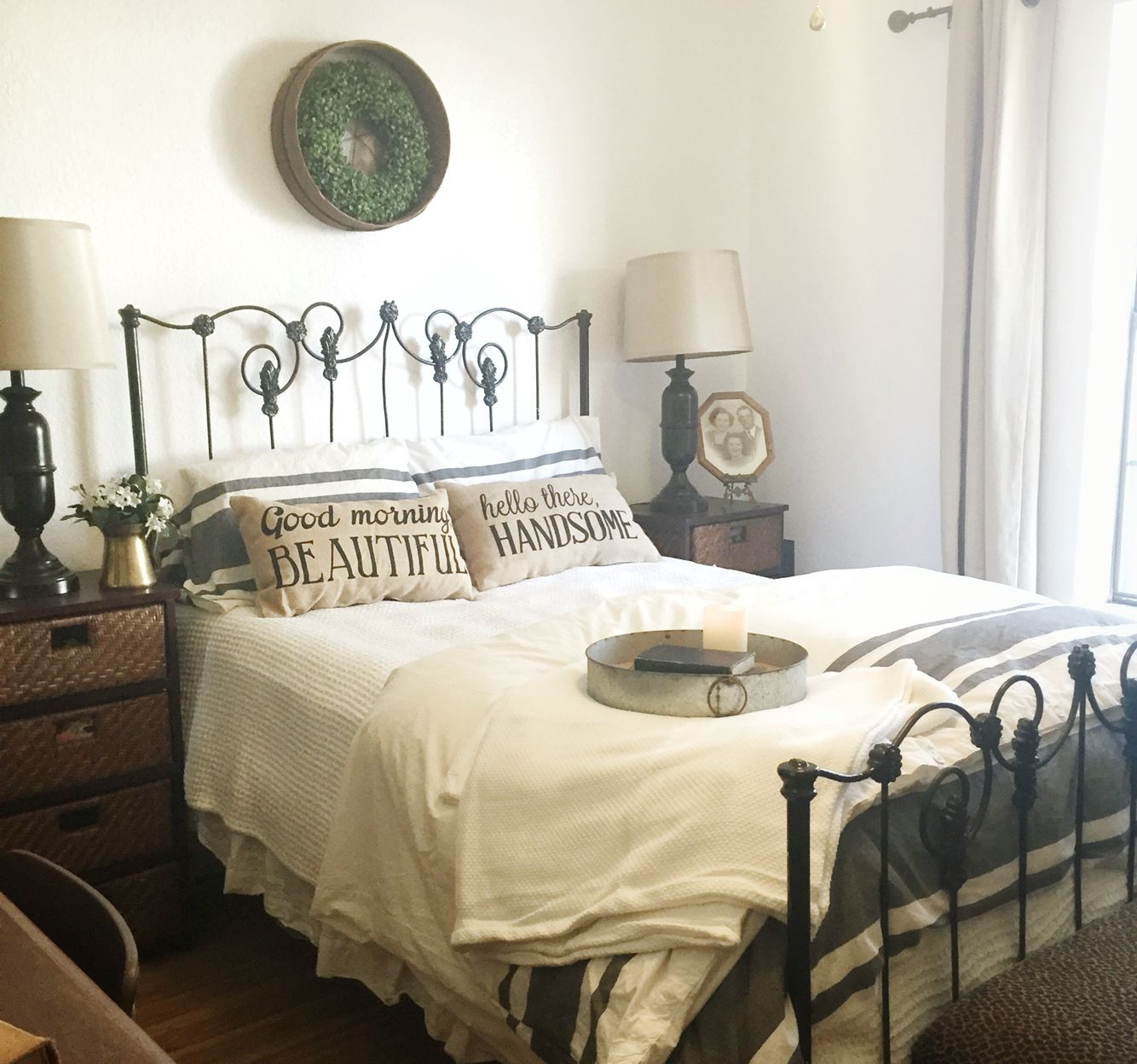 Guest Bedroom Decorating Ideas Budget Lego Bedroom Curtains Master Bedroom Black And White Bedroom Cabinet Designs: Farmhouse Bedroom Ikea Bedding