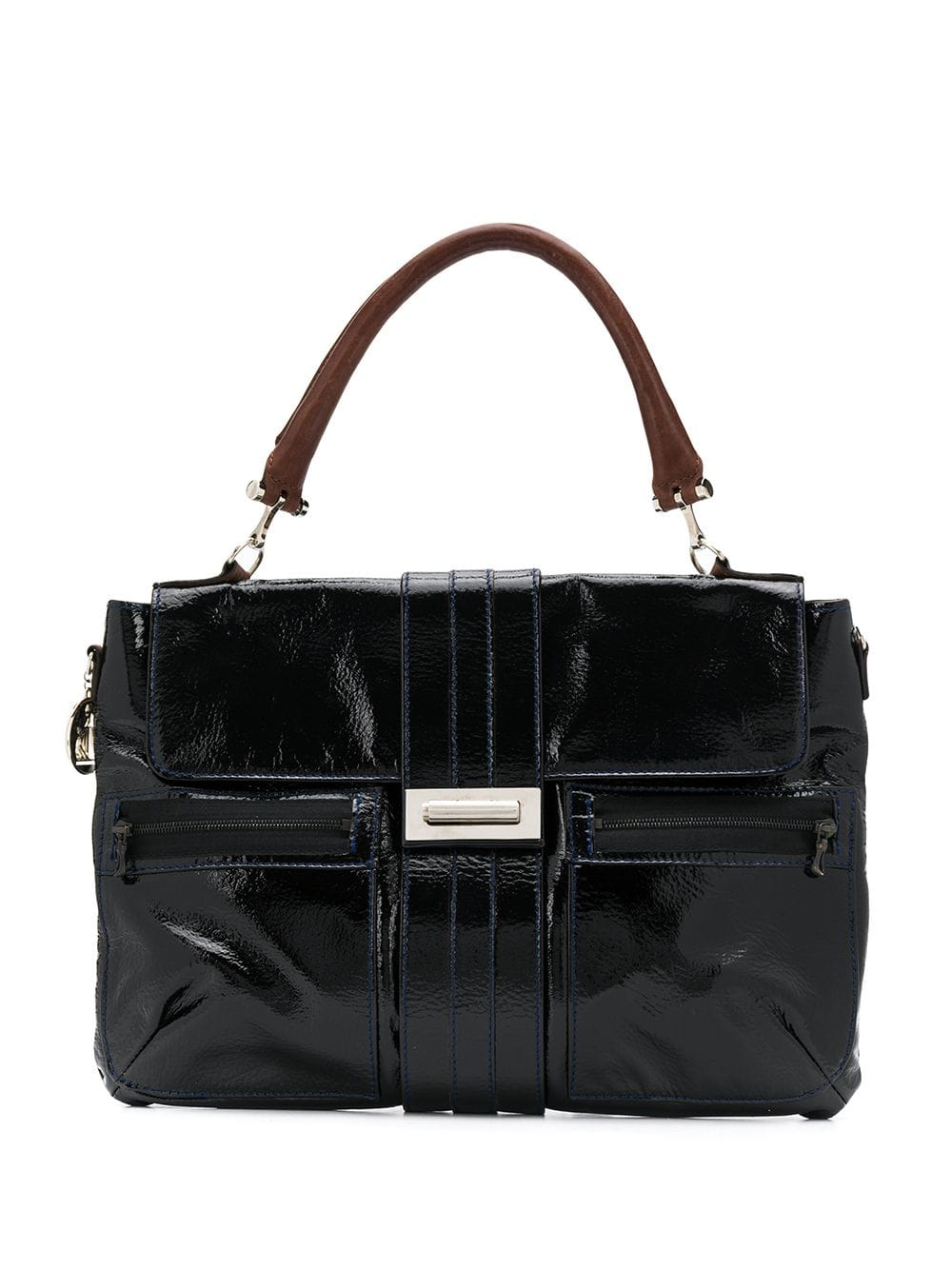 5a52d6c0cb3 LANVIN PRE-OWNED 2000's shoulder bag - Black in 2019 | Products ...