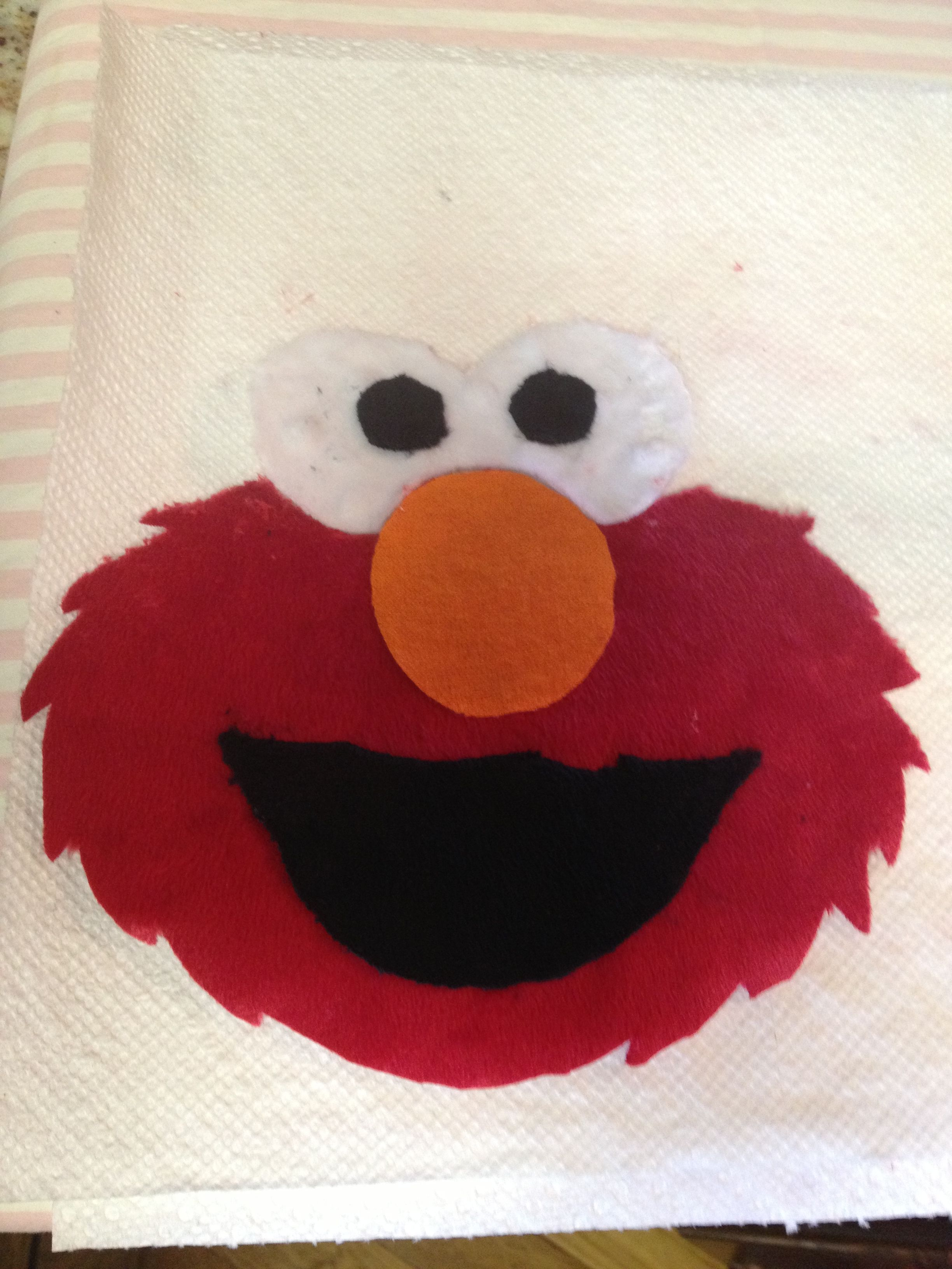 Elmo appliqu minky fabric arts and crafts pinterest for Elmo arts and crafts